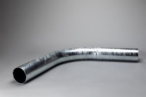 Galvanised 45° Bend Fill Pipe