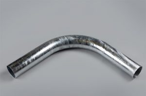 Galvanised 90° Bend Fill Pipe