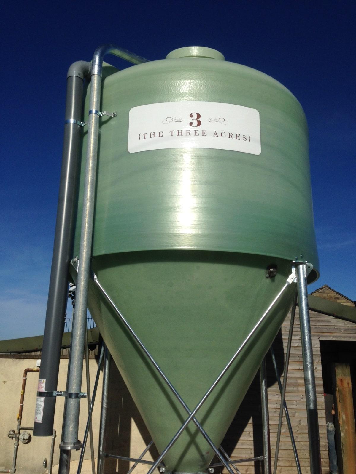 10 tonne biomass silo