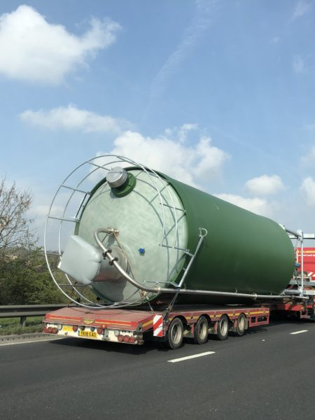 Gantry Silo - Delivery