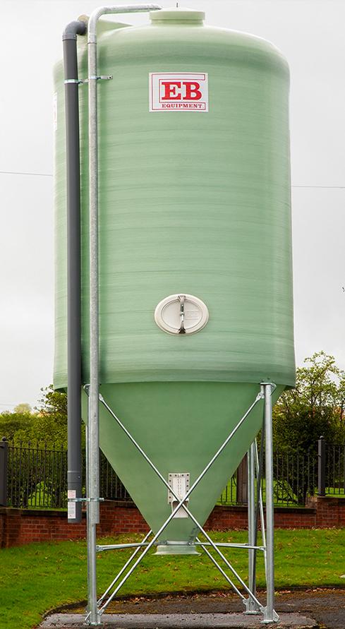 fibreglass silo