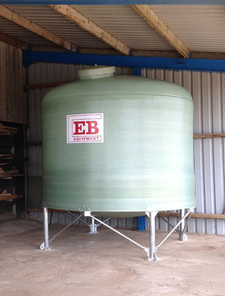 12m³ Soya Dish Bottom Tank