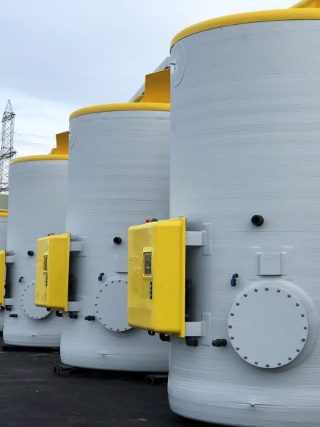Salt Saturator Tanks