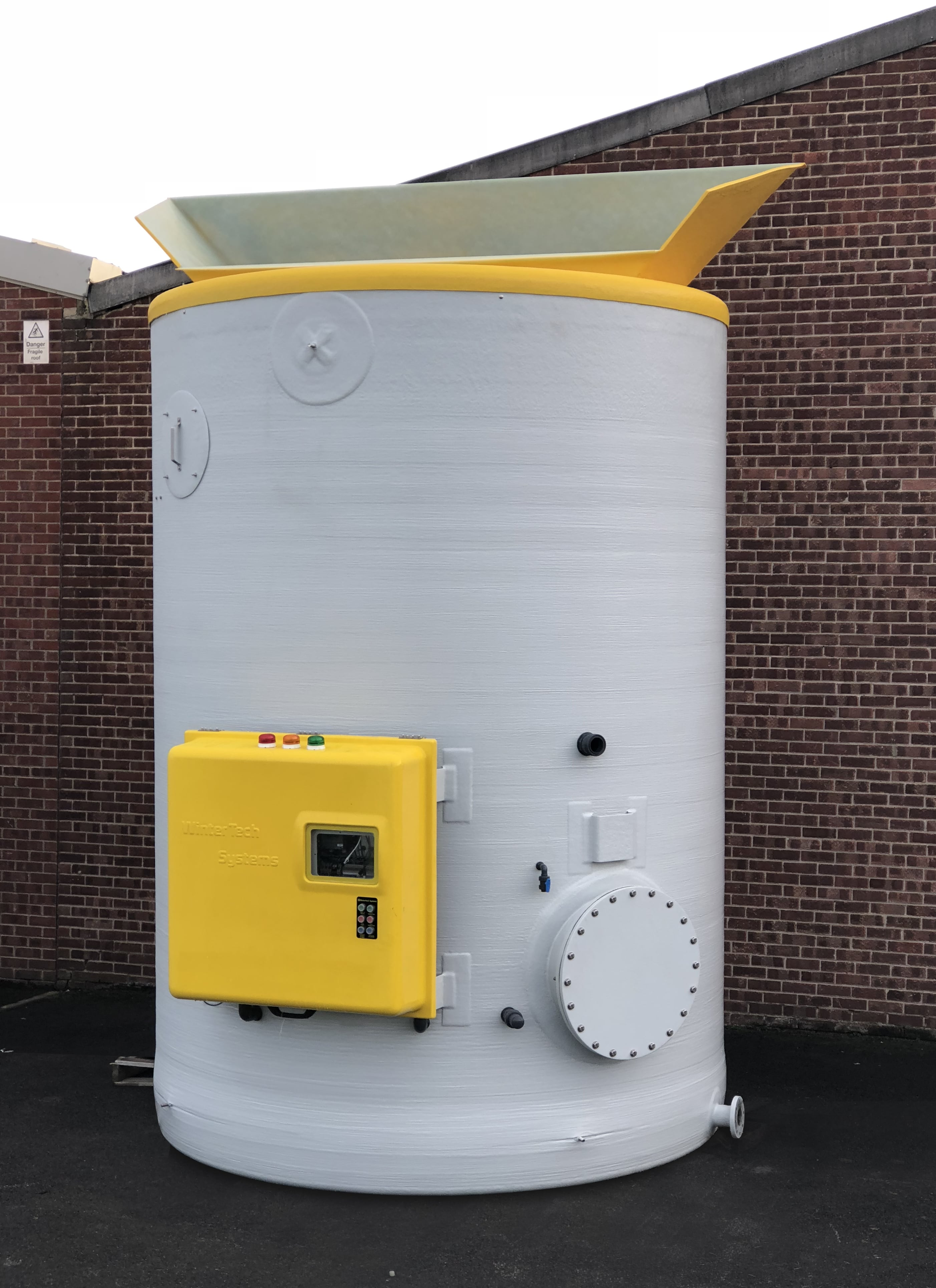 Salt Saturator Tank