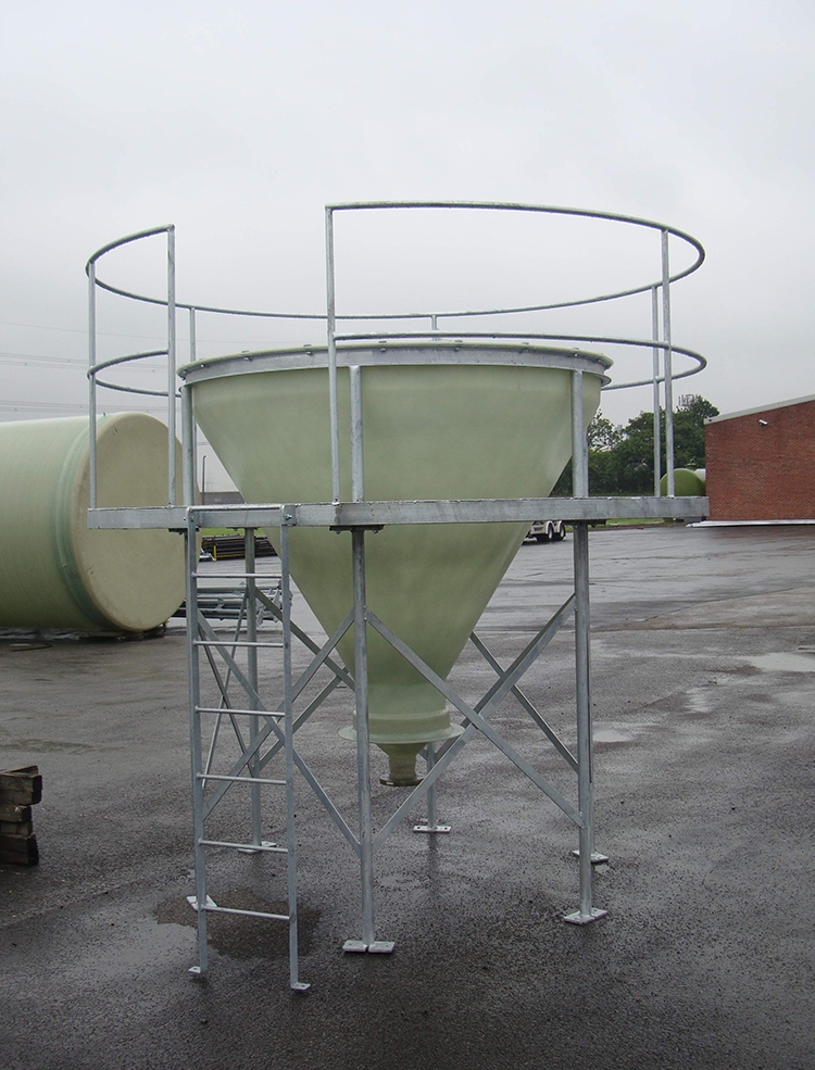 Separation Tank with Viewing Platform