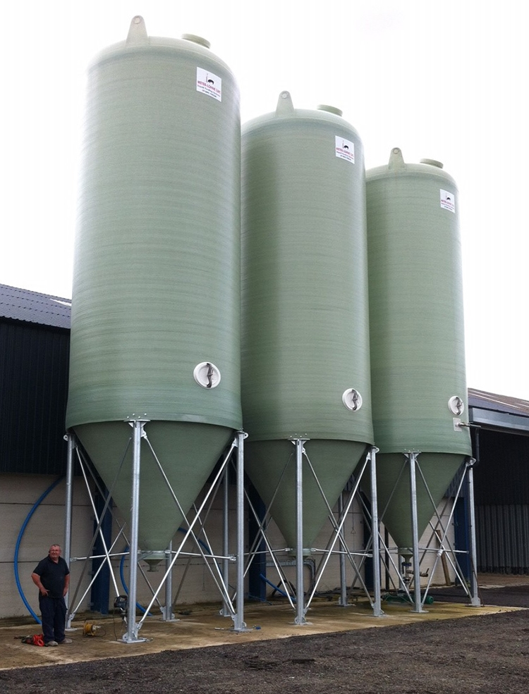 60m³ Conical Bottom Tanks