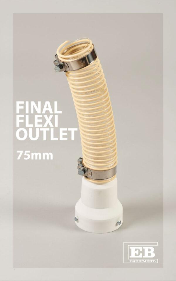 final flexi outlet 75mm