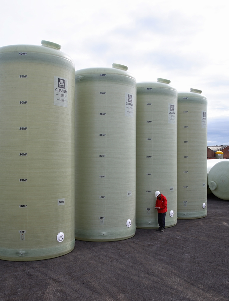 40m³ - 2.85 Ø Flat Bottom Tanks