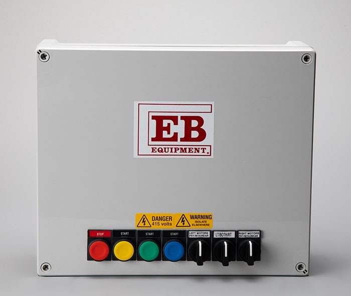 Flat Rate Feeding System - Control Panel