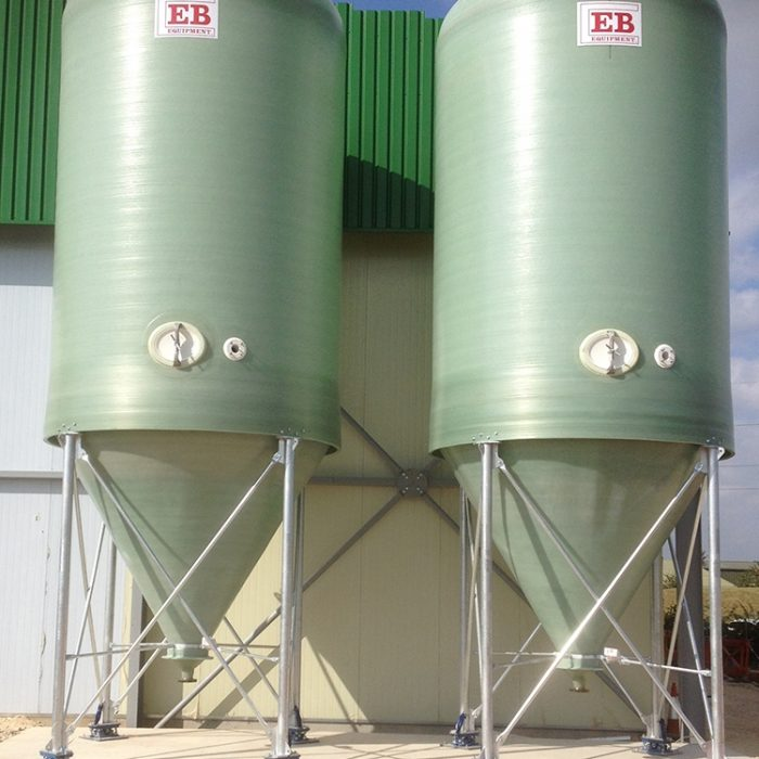 50m³ Conical Bottom Tanks