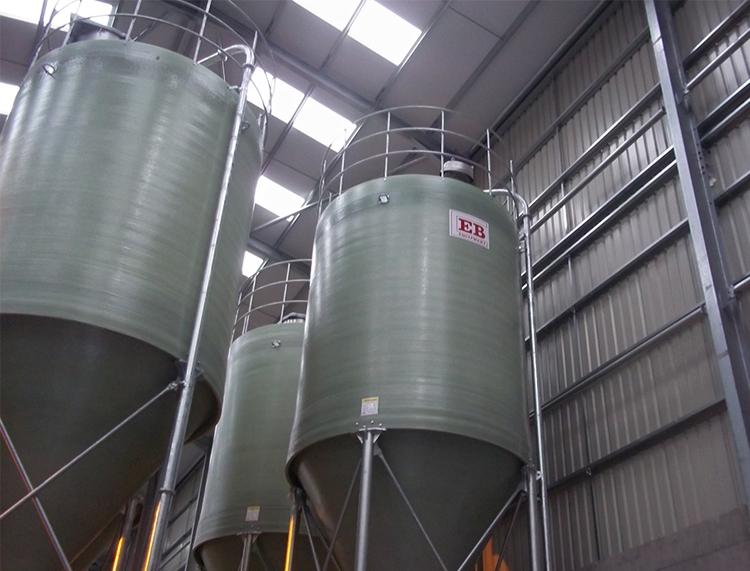 Standard Duty Silos - Mill Production